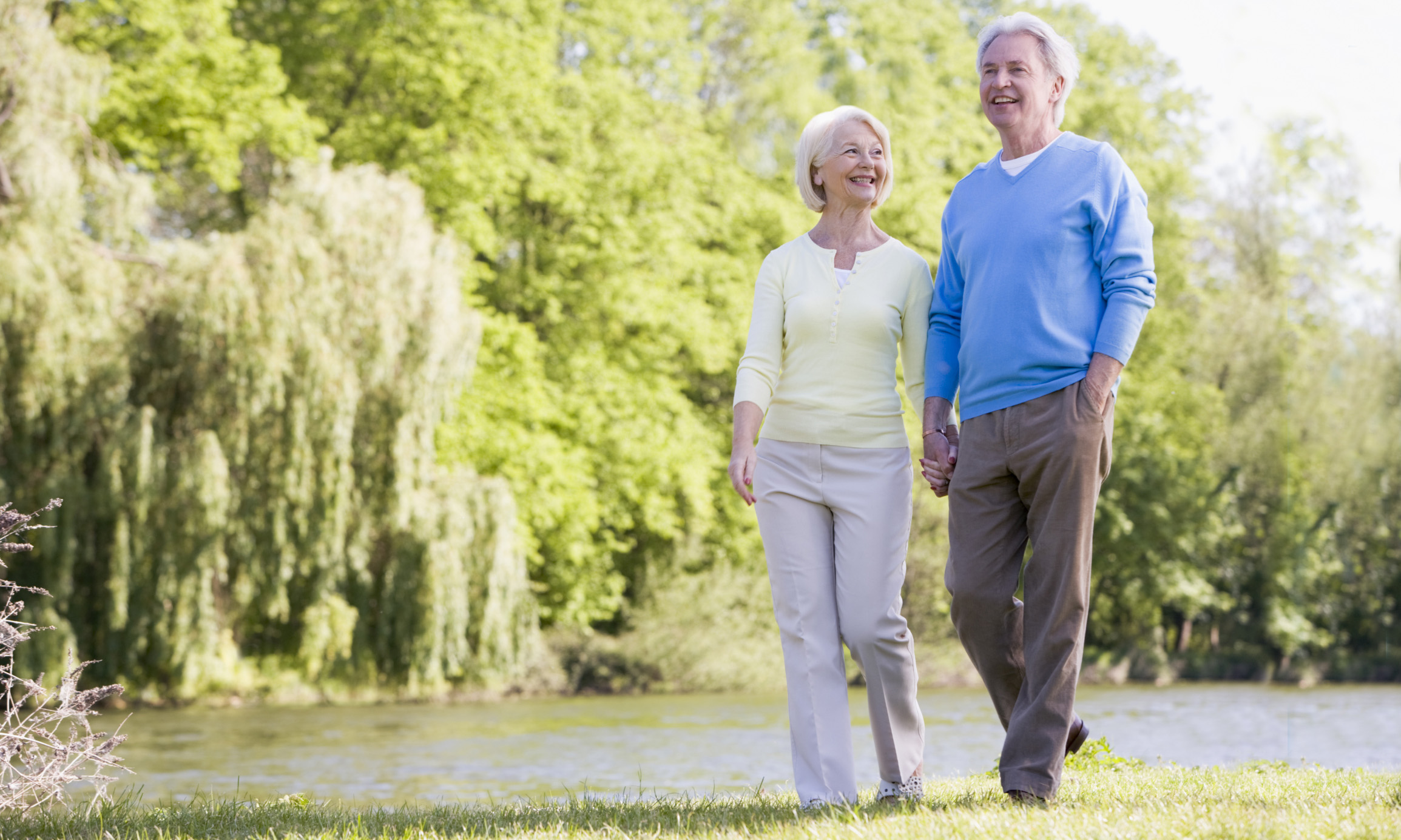 Image result for elderly couple in the park
